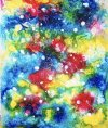 光のアートとは、ひかり、愛、喜びを表現した癒しの絵です。hikarinoart。。。魂からの ヒーリングアート です。